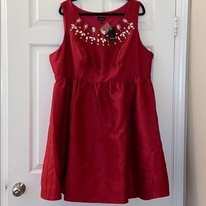 NWT TORRID dress w/ embellishments on the neckline